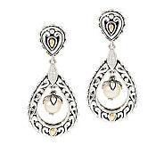 JAI Sukhothai Sterling & 14K Accent Pearl Drop Earrings - J276538