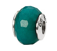 Prerogatives Sterling Teal Quartz Gemstone Bead - J298238