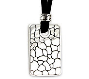 Novica Artisan Crafted Sterling Stone Age Pendant w/Cord - J298538