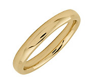 Simply Stacks Sterling 18K Yellow Gold-Plated 3.25mm Ring - J298938