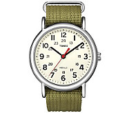 Timex Mens Olive Green Weekender Watch - J308838