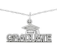 Polished Graduate Pendant w/ 18 Chain, 14K - J313038
