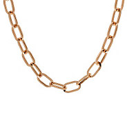 Bronzo Italia 30 Polished Oval Link Chain - J313638
