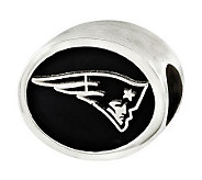 Sterling New England Patriots NFL Bead - J315138