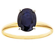 Two-Tone Gold Sapphire Ring, 14K - J315938