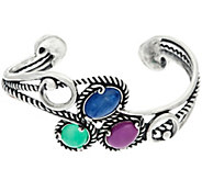 Carolyn Pollack Bay Breeze Sterling Silver Cuff Bracelet - J329938