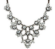 As Is Joan Rivers Crystal Elegance Statement Necklace - J347038