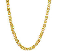 Judith Ripka Verona 18 14K Clad Byzantine Necklace, 31.9g - J349238