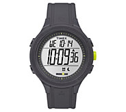 Timex Unisex Ironman Black Silicone ChronographDigital Watch - J380638