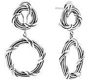Peter Thomas Roth Sterling Signature Classic Drop Earrings - J381138