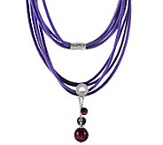 Ippocampo Sterling Gemstone Bead Multi-strand Necklace - J268939