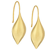 Michael Dawkins Sterling 14K Clad Pod Drop Earrings - J323839