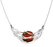 Kalos by Hagit Sterling Silver and Glass Sedona Necklace - J327139