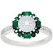 As Is Diamond & Precious Gemstone Ring, 14K, 1/4cttw by Affinity - J332239