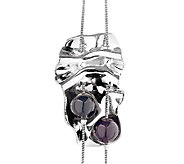 Hagit Sterling Opening Night Necklace w/ Black Onyx Beads - J337539