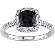 Black Diamond Ring, 14K, 1.00 cttw, by Affinity - J344139