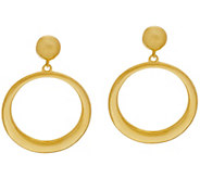 As Is The Elizabeth Taylor Front Facing Hoop Earrings - J346039