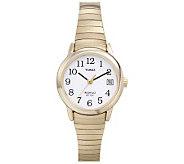 Timex Ladies Easy Reader Goldtone Watch - J109040