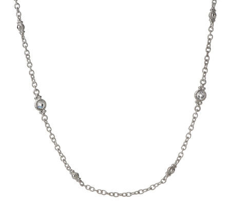"Judith Ripka Diamonique 1.00 ct tw By the Yard 20"" Necklace"