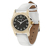 Isaac Mizrahi Live! Colorful Strap Watch Strap Watch - J284540
