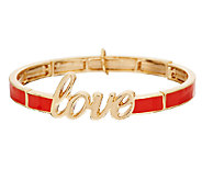 Vera Bradley Stretch Bracelet with Love - J291340