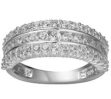 Epiphany Diamonique 1.05 ct tw Band Ring