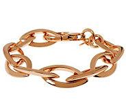 Bronzo Italia 8 Marquise Link Bracelet - J312440