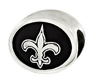 Sterling New Orleans Saints NFL Bead - J315140