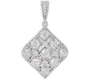 Judith Ripka Sterling & Diamonique 4.80 cttw Enhancer - J321540