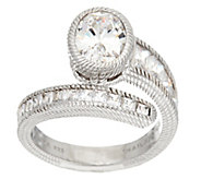Judith Ripka Sterling 3.65 cttw Diamonique Ring - J331040