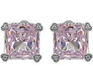 Judith Ripka Sterling Diamonique Montana Stud Earrings - J380040