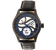 Reign Bhutan Automatic Watch - Black/Blue - J380340