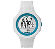 Timex Unisex Ironman White Silicone ChronographDigital Watch - J380640