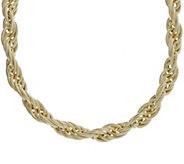 Judith Ripka Verona 14K Clad 20 Rope Chain Necklace, 76.0g - J382440