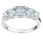 Choice of Sterling Graduated Gemstone Rings - J81540