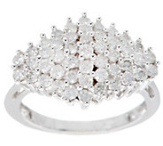 Cluster Design Diamond Ring, 14K Gold, 1.00 cttw by Affinity - J280741