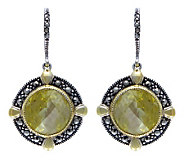 Suspicion Sterling Canary Simulated Diamond Earrings - J304341