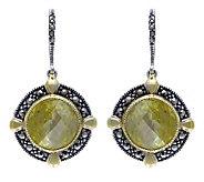 Suspicion Sterling Canary Simulated Diamond Earrings - J304341
