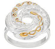 JMH Jewellery Sterling Silver Love Knot Ring - J318741
