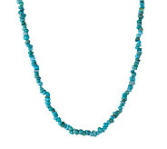 American West Turquoise Nugget Necklace - J337641