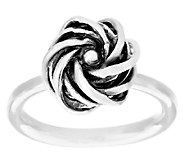 Regina Lane Sterling Classic Knot Polished Ring - J295342