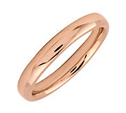 Simply Stacks Sterling 18K Rose Gold-Plated 3.25mm Ring - J298942