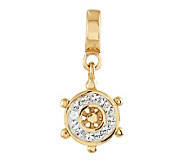 Prerogatives 14K Gold-Plated Sterling SwarovskiWheel Bead - J307442