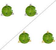 Round Color Diamond Earrings, 14K, 1/2cttw, b y Affinity - J313742