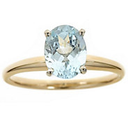 Two-Tone Gold 1.25 cttw Gemstone Ring, 14K - J315942