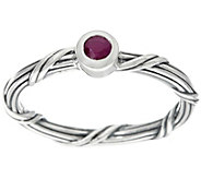 Peter Thomas Roth Sterling Signature Romance Ruby Ring - J331242