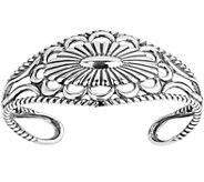 Sterling Concha Cuff Bracelet by American West - J377942