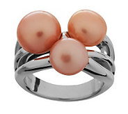 Honora Cultured FreshwaterPearl Cluster Sterling Ring - J268843