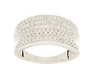 Micropave Concave Band Diamond Ring, 14K, 1/2cttw by Affinity - J279643