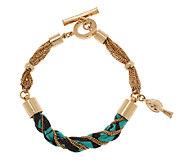 Vera Bradley Twist Toggle Bracelet - J291343